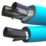 3D renderings of pipes designed for cold environment Viscato