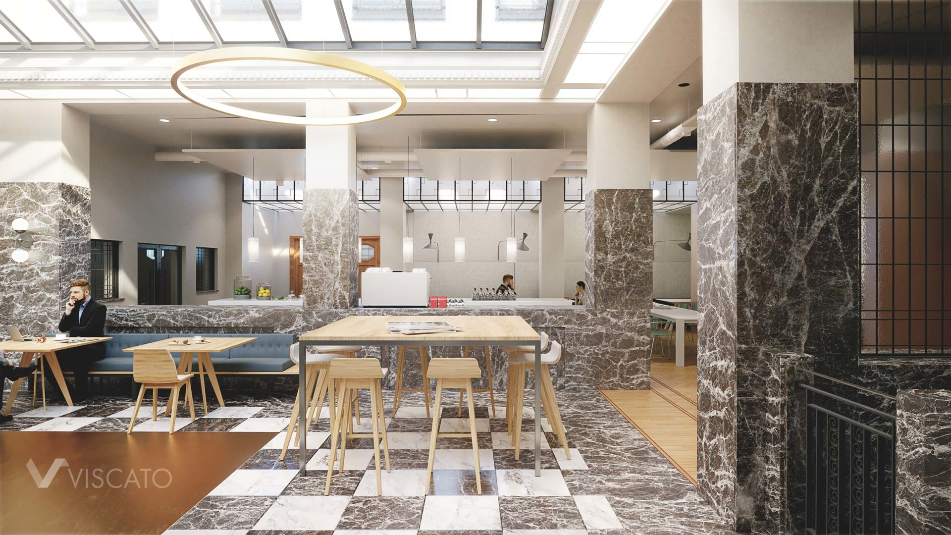 3D project of prestigious office- spaces