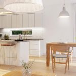 3D kitchen and dining room, Viscato