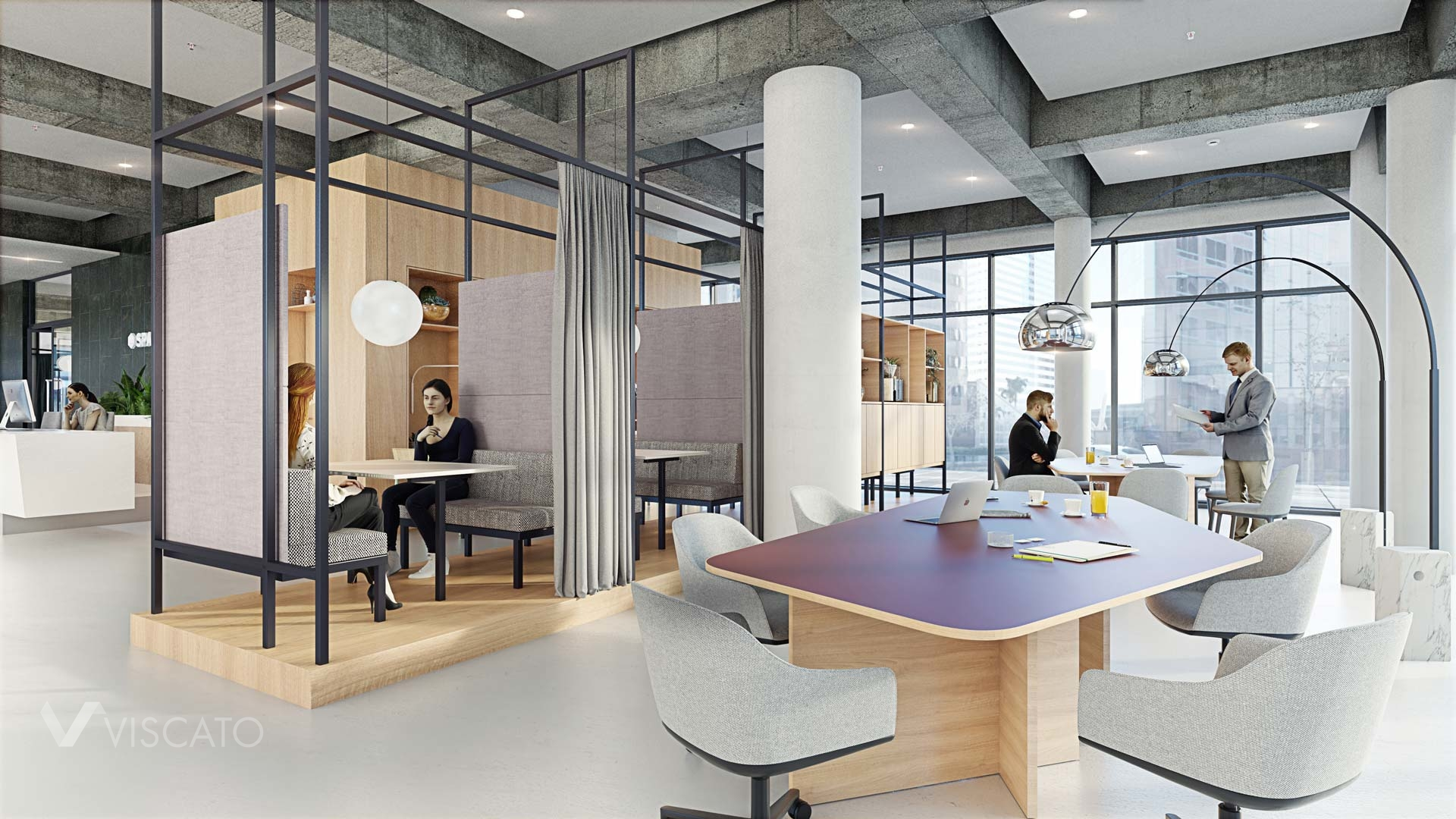 interiors of an office in Hamburg