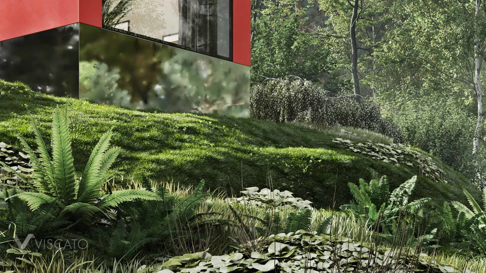 natural surroundings in 3D, viscato