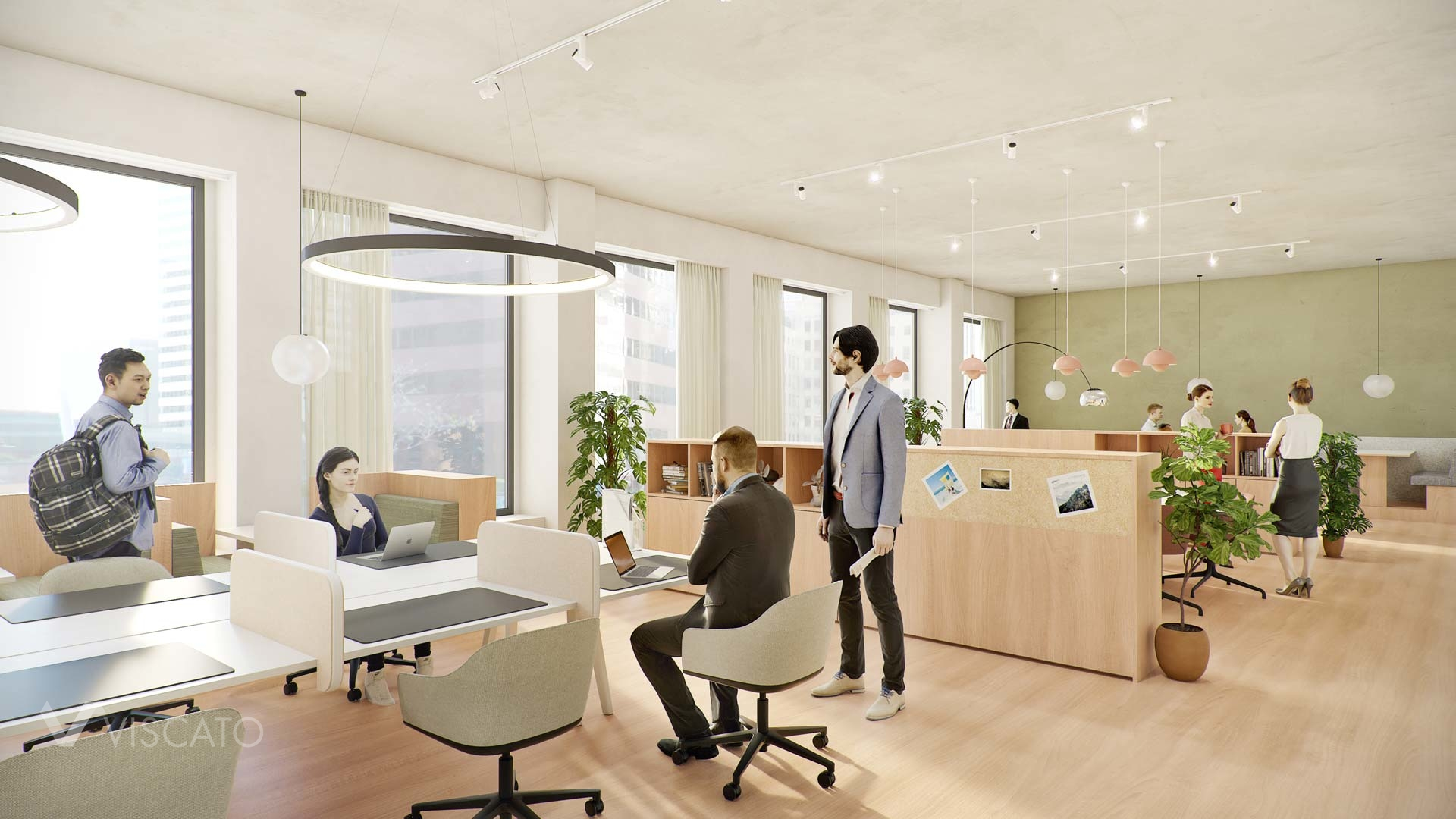 Open space Office, 3d