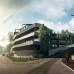 3d visualization of a Snorre Stinessen architectural project, Viscato