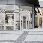 Shopping Mall in Germany - entrance, Viscato