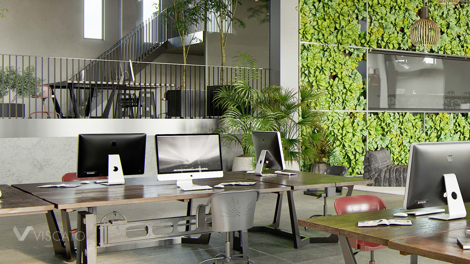 Industrial design office in 3D, Viscato