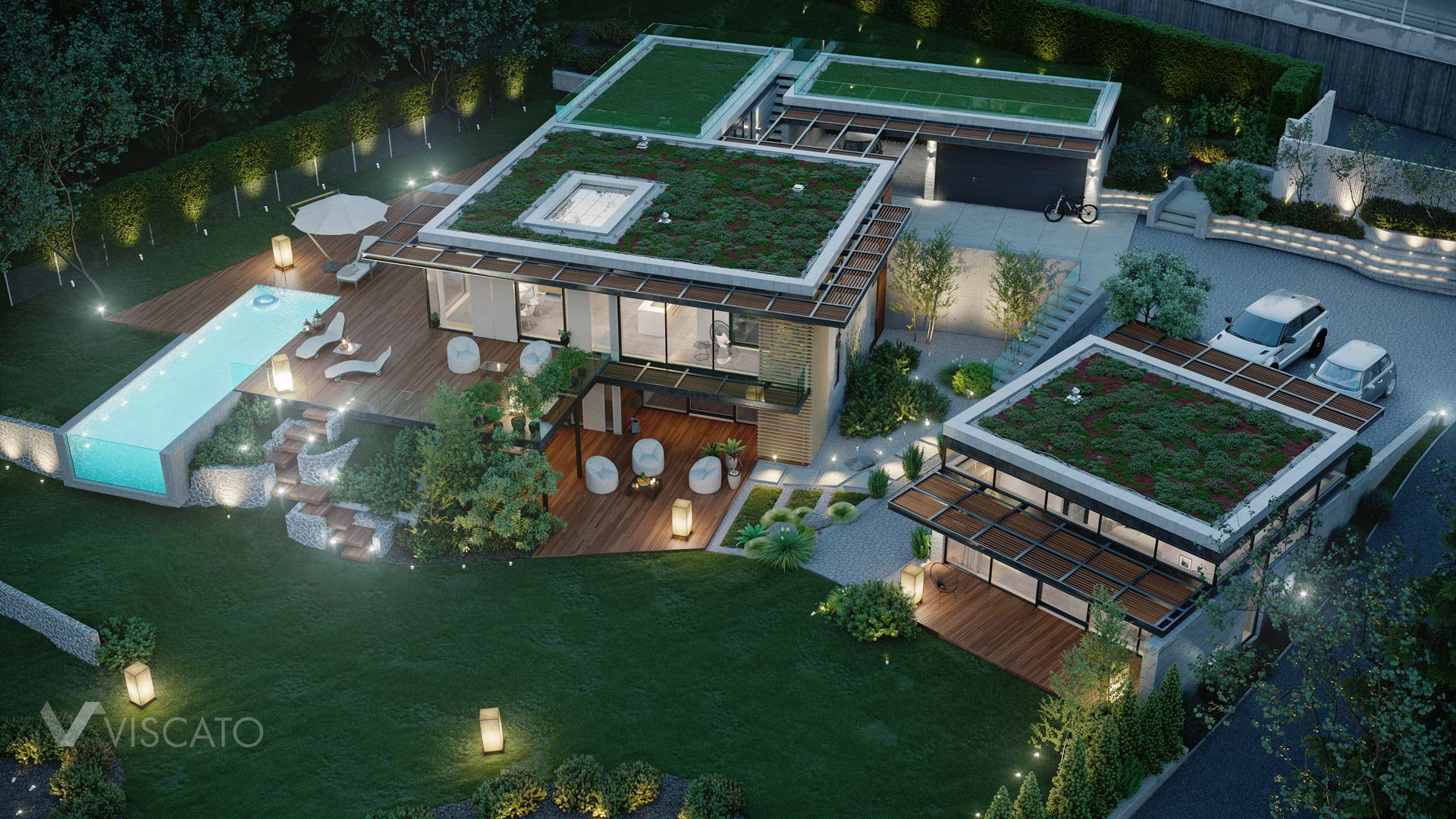 luxurious real estate, Viscato 3d