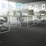carpet for open space interior, Viscato 3D