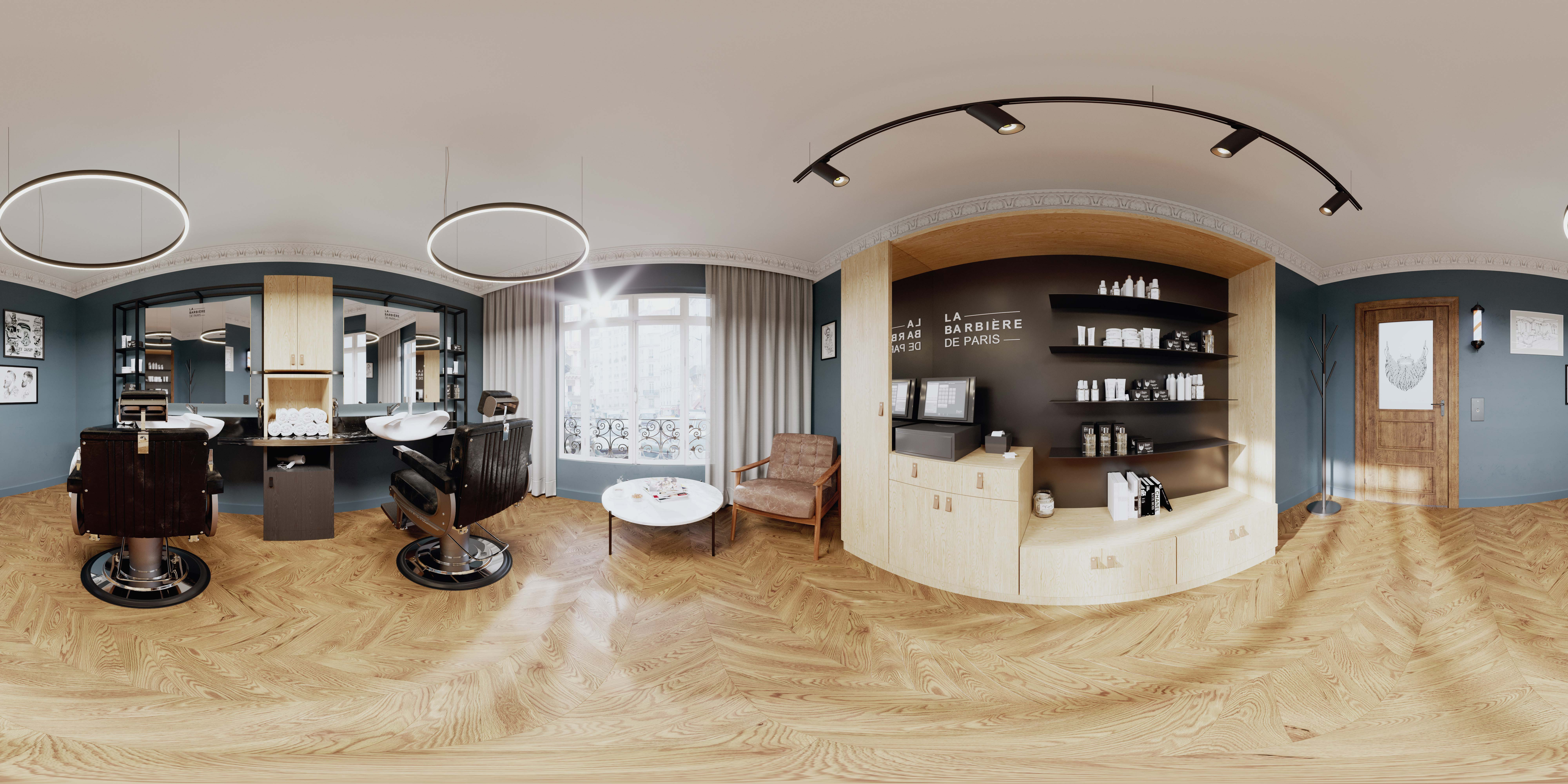 Treatment products, 3D rendering