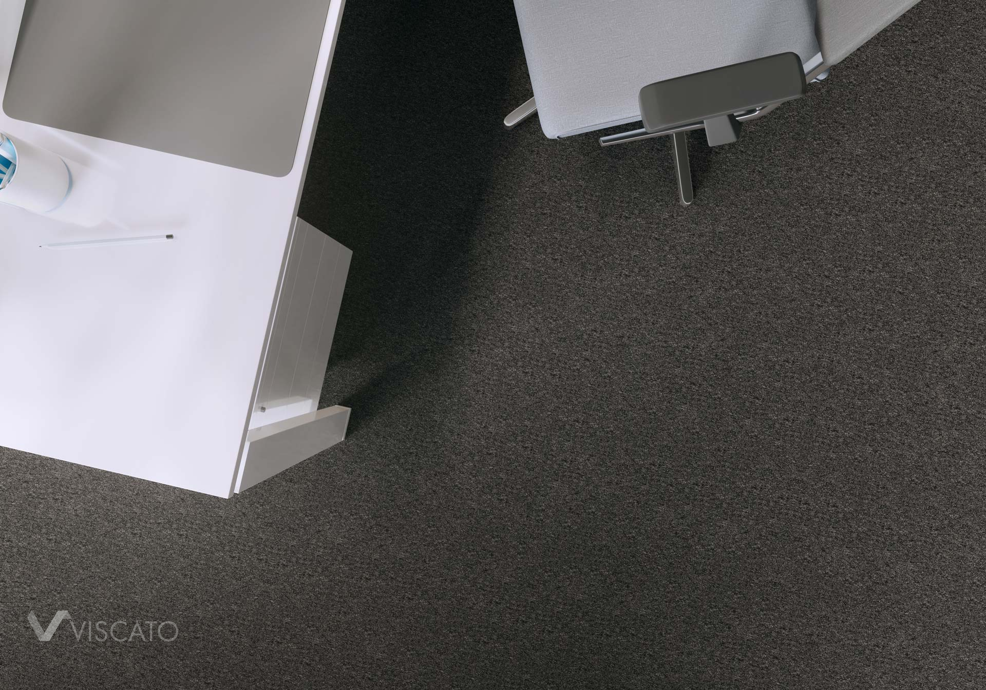Carpet in detail, 3D visualization