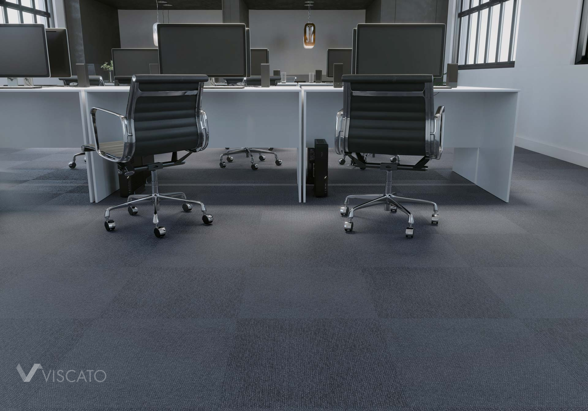 Office placement, 3D interior