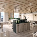 Canteen in a resort, Viscato 3D