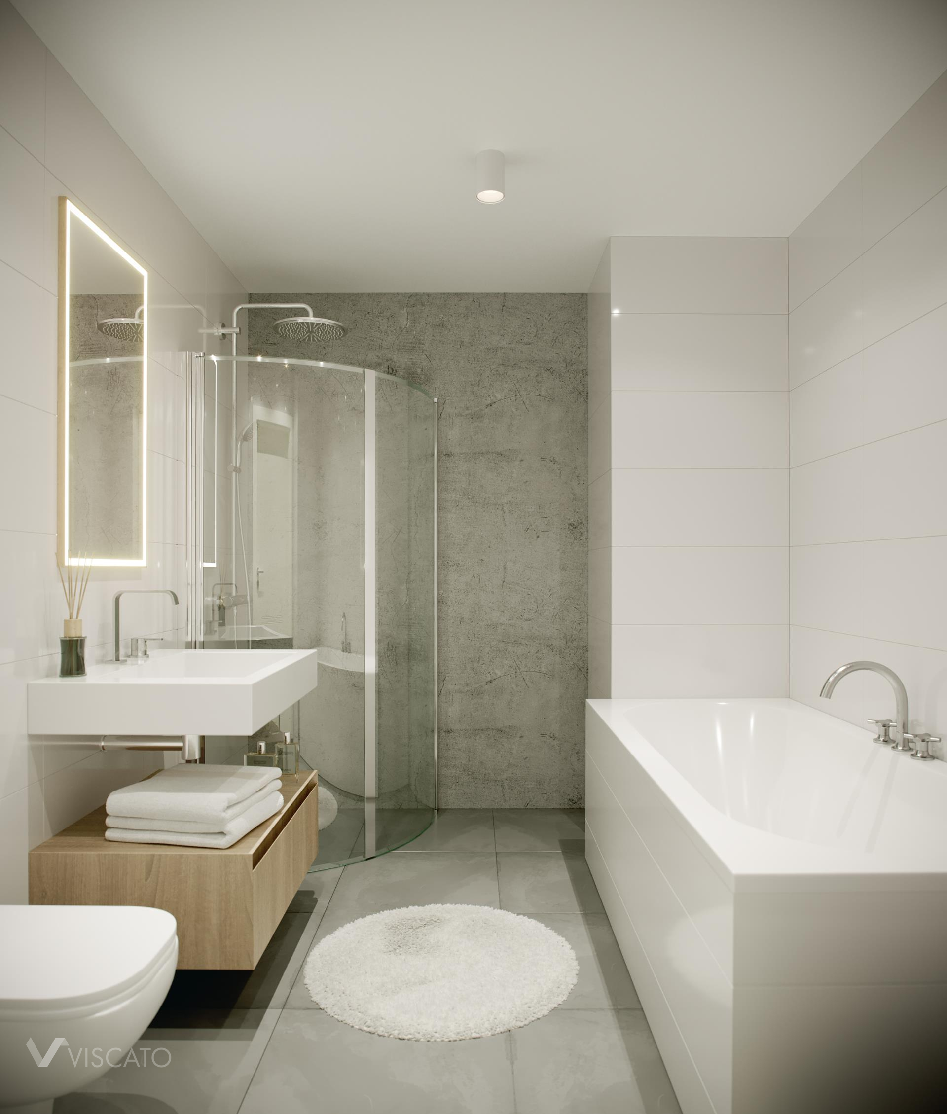 Shower cabin, 3ds Max