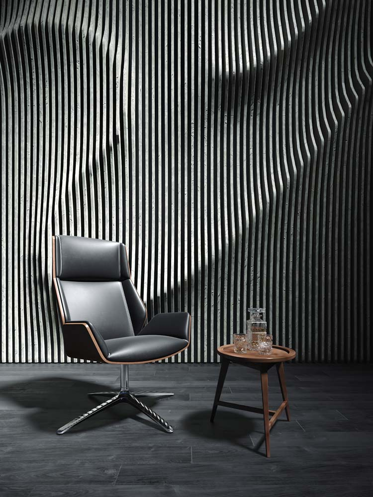 Leather Chair, Viscato Product Packshot