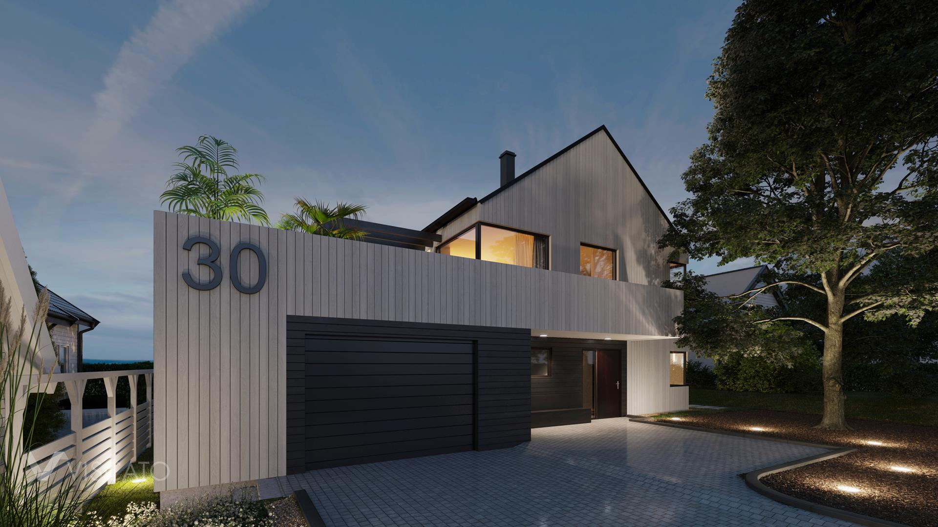 Evening time, 3D Rendering