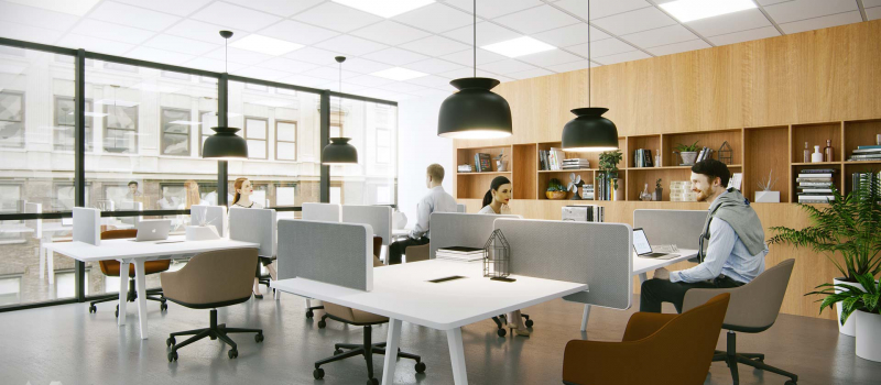 Cooperative zone in the office